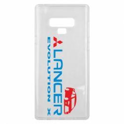 Чехол для Samsung Note 9 Lancer Evolution X