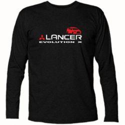Футболка с длинным рукавом Lancer Evolution X - FatLine