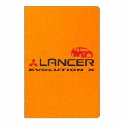Блокнот А5 Lancer Evolution X