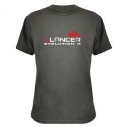 Камуфляжная футболка Lancer Evolution X - FatLine