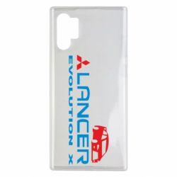 Чехол для Samsung Note 10 Plus Lancer Evolution X