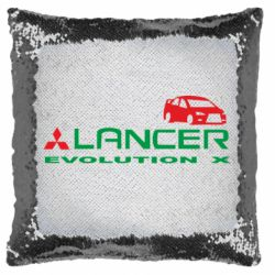 Подушка-хамелеон Lancer Evolution X