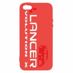Чохол для iphone 5/5S/SE Lancer Evolution X