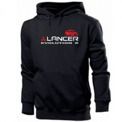 Мужская толстовка Lancer Evolution X - FatLine