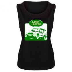 Женская майка Land Rover - FatLine