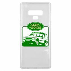 Чохол для Samsung Note 9 Land Rover