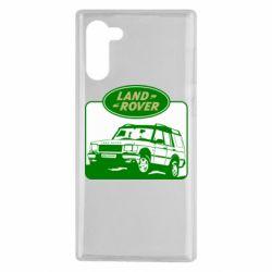 Чохол для Samsung Note 10 Land Rover