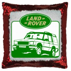 Подушка-хамелеон Land Rover
