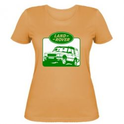 Женская футболка Land Rover