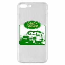 Чохол для iPhone 8 Plus Land Rover