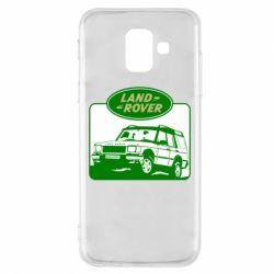 Чохол для Samsung A6 2018 Land Rover