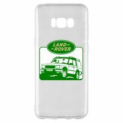 Чохол для Samsung S8+ Land Rover