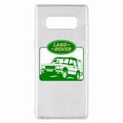 Чохол для Samsung Note 8 Land Rover
