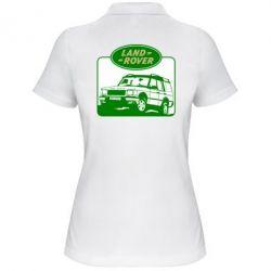 Женская футболка поло Land Rover - FatLine