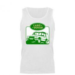 Мужская майка Land Rover - FatLine