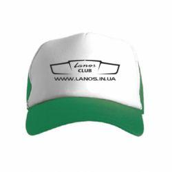 Дитяча кепка-тракер LANOS CLUB