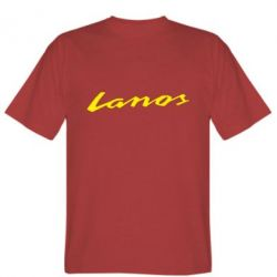Мужская футболка Lanos Logo - FatLine