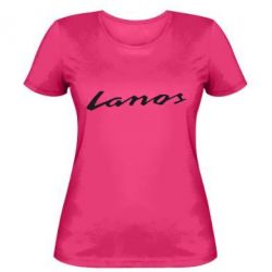 Женская футболка Lanos Logo