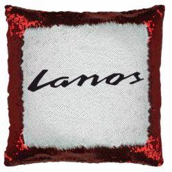 Подушка-хамелеон Lanos Logo