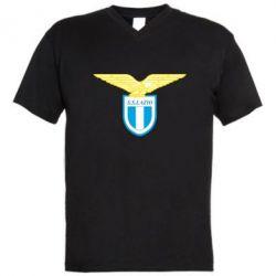 Мужская футболка  с V-образным вырезом Lazio - FatLine