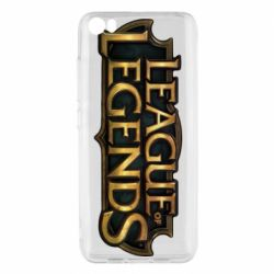 Чехол для Xiaomi Mi5/Mi5 Pro League of legends logo