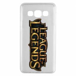 Чехол для Samsung A3 2015 League of legends logo