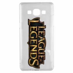 Чехол для Samsung A5 2015 League of legends logo