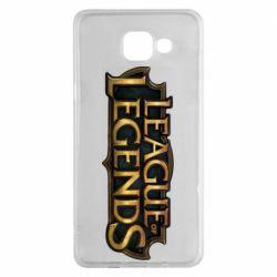 Чехол для Samsung A5 2016 League of legends logo