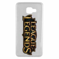 Чехол для Samsung A7 2016 League of legends logo