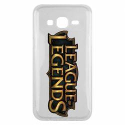 Чехол для Samsung J5 2015 League of legends logo