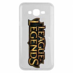 Чехол для Samsung J7 2015 League of legends logo