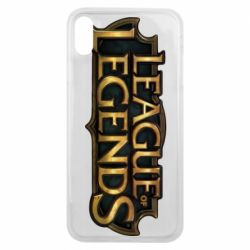 Чехол для iPhone Xs Max League of legends logo
