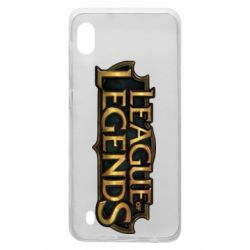 Чехол для Samsung A10 League of legends logo
