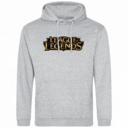 Мужская толстовка League of legends logo