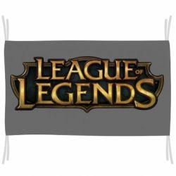 Флаг League of legends logo
