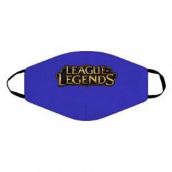 Маска для лица League of legends logo