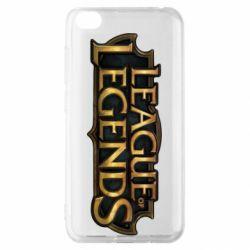 Чехол для Xiaomi Redmi Go League of legends logo