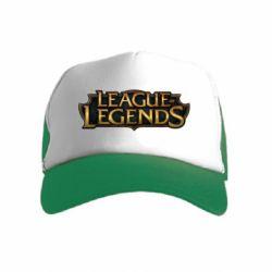 Детская кепка-тракер League of legends logo