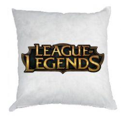 Подушка League of legends logo