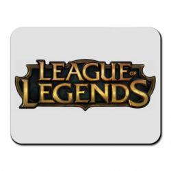 Коврик для мыши League of legends logo