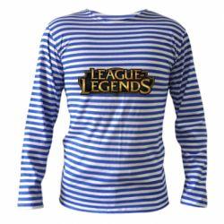 Тельняшка с длинным рукавом League of legends logo
