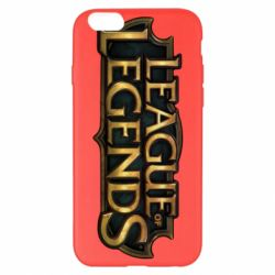 Чехол для iPhone 6 Plus/6S Plus League of legends logo