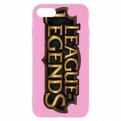 Чехол для iPhone 7 League of legends logo
