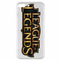 Чехол для iPhone 7 Plus League of legends logo
