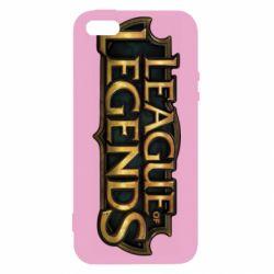 Чехол для iPhone5/5S/SE League of legends logo