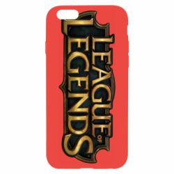 Чехол для iPhone 6/6S League of legends logo