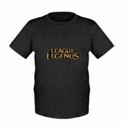 Детская футболка League of legends logo