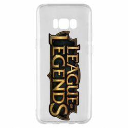 Чехол для Samsung S8+ League of legends logo