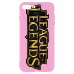 Чехол для iPhone 8 Plus League of legends logo