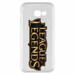 Чехол для Samsung A5 2017 League of legends logo